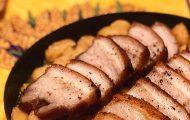 豚バラ肉のコンフィと白花豆
